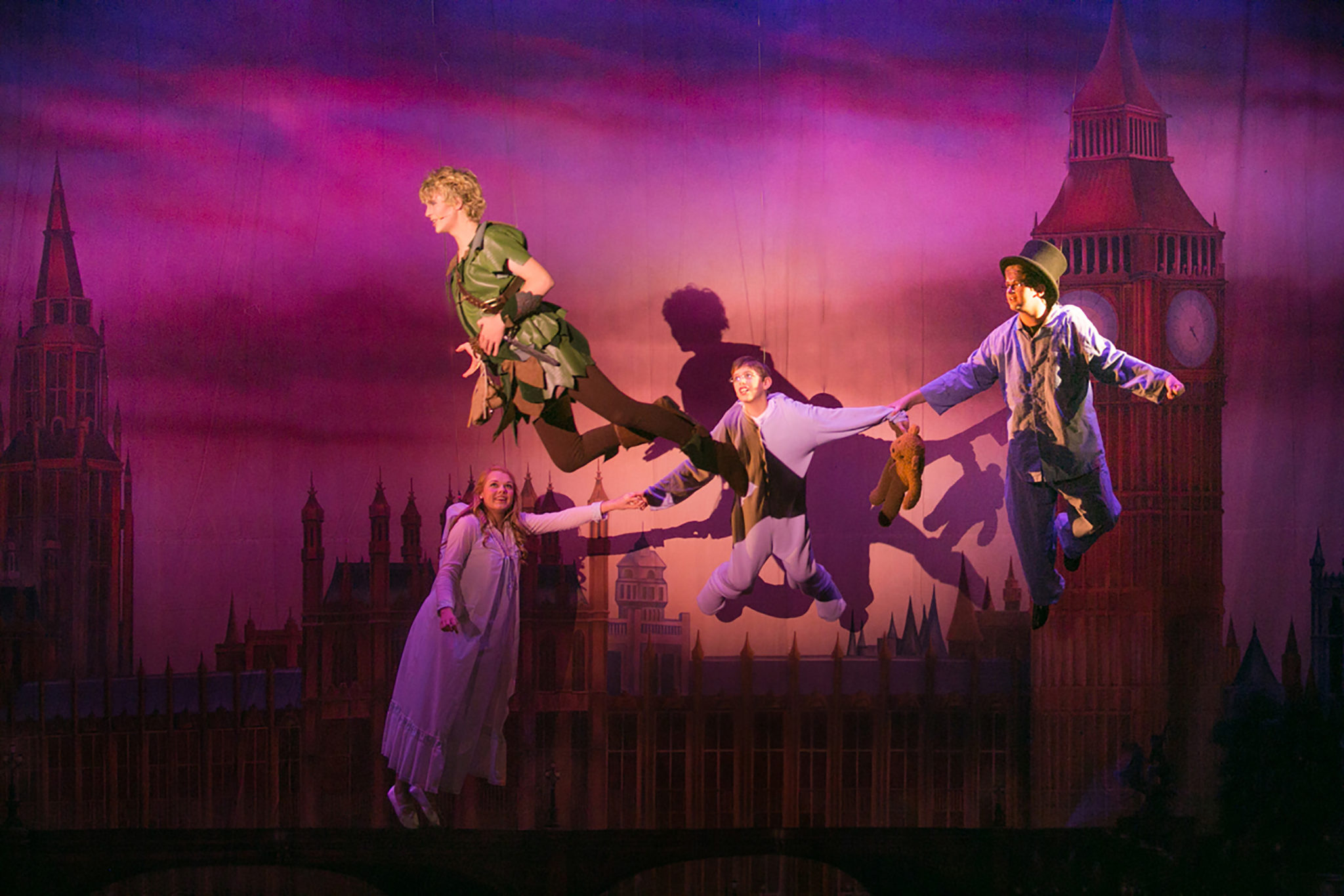 Peter Pan - Flying