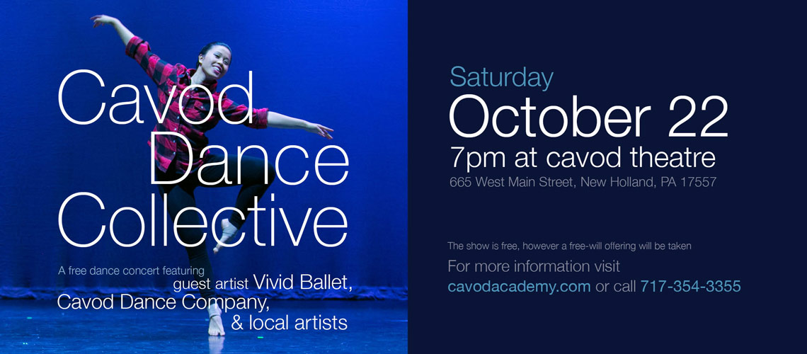 collective dance banner Cavod dance performance