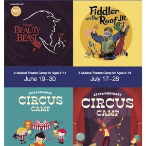 Summer Camp Flyer Cavod acting summer camps
