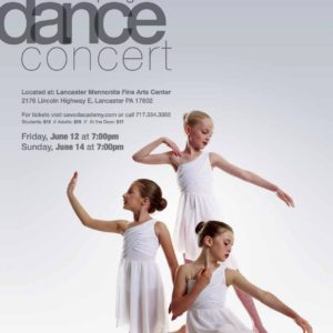 2015 Spring Dance Concert Poster
