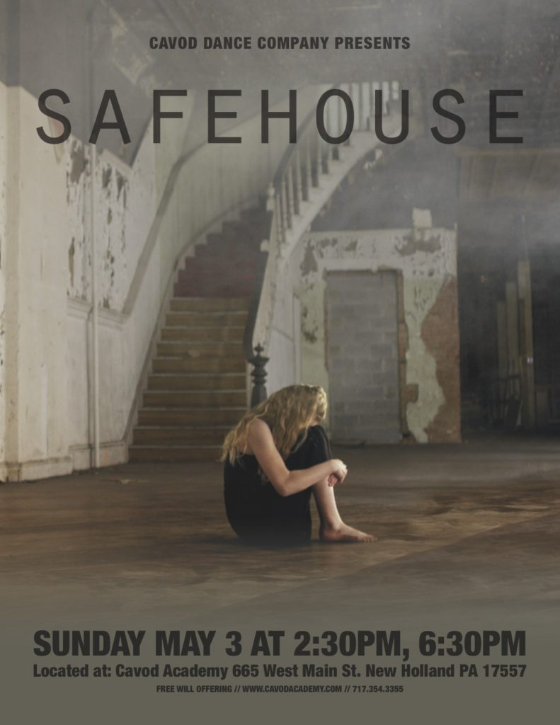 Cavod Dance Company - Safehouse Poster