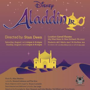 Disney's Aladdin Junior Poster