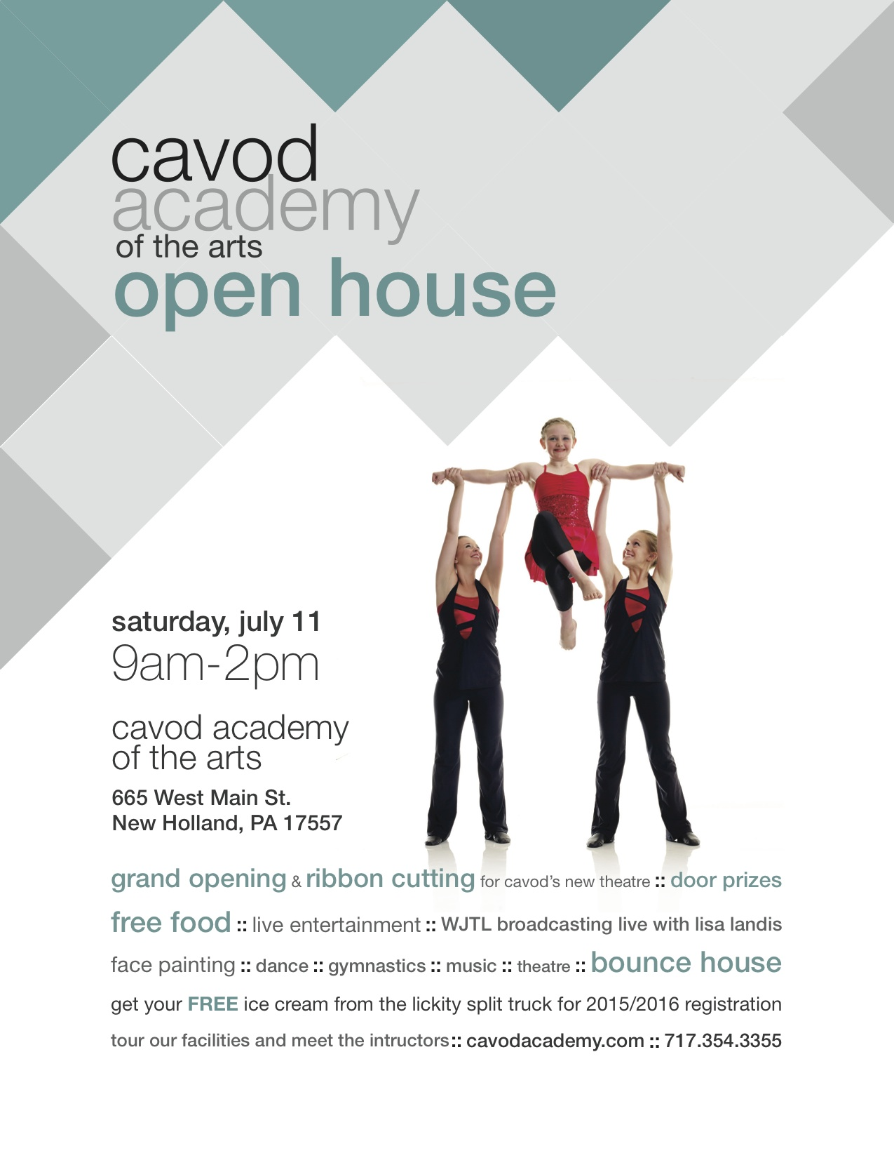 2015 Cavod Open House Poster