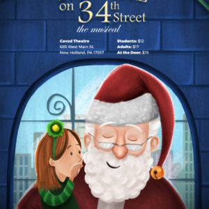 Miracle on 34th Street poster Cavod Theatre productions