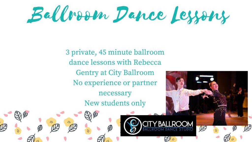 City Ballroom Dance Lessons