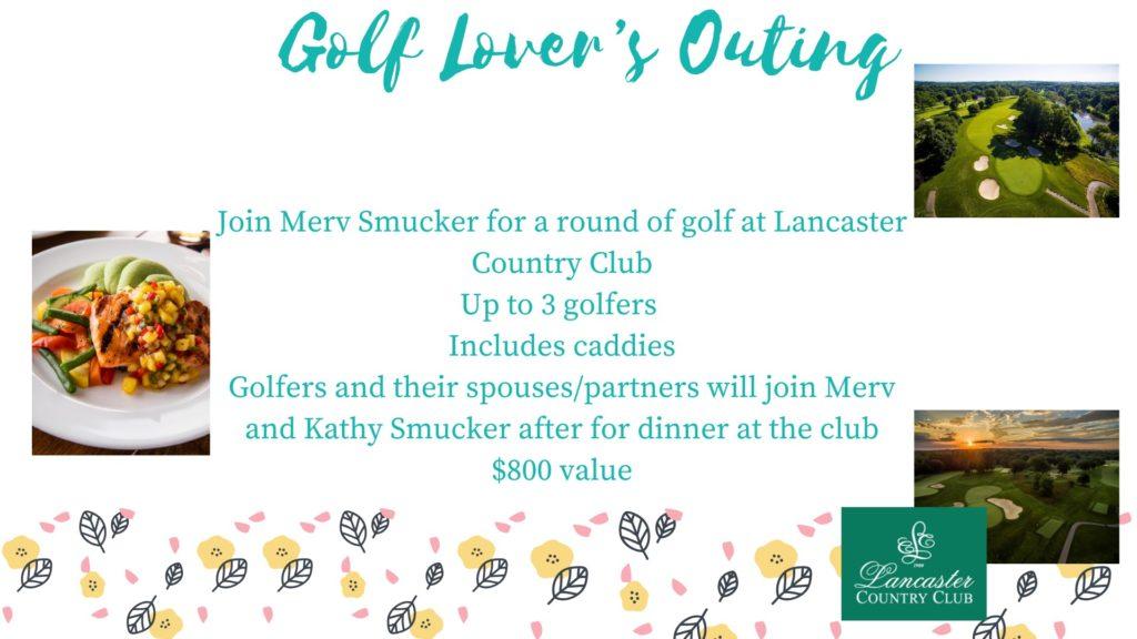 Merv Smucker Golf Lovers Outing