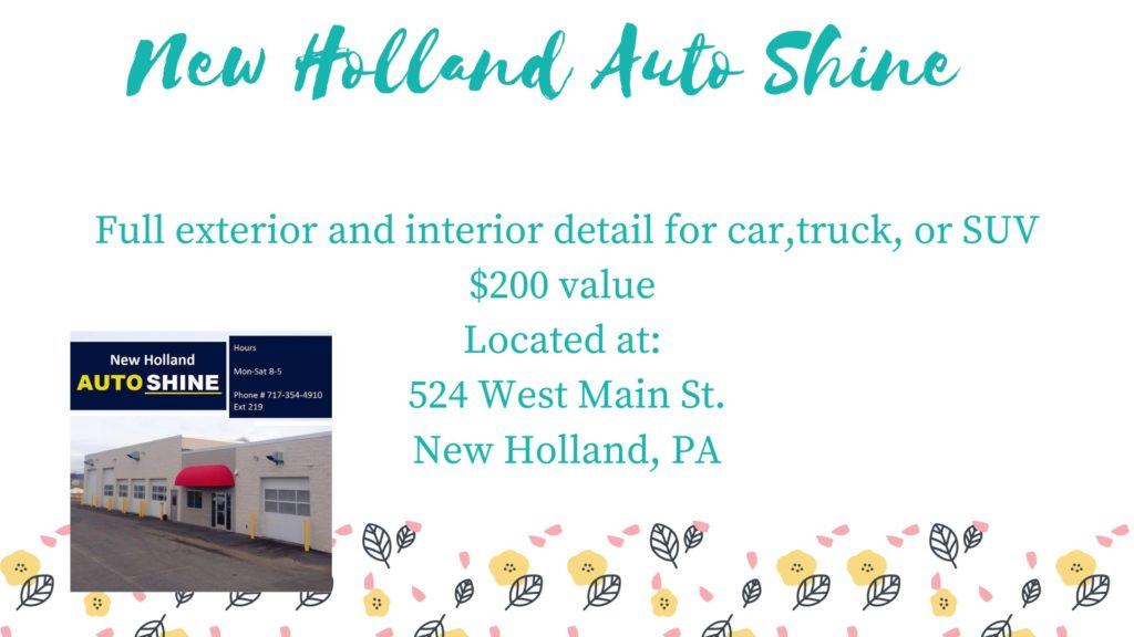 New Holland Auto Shine Package